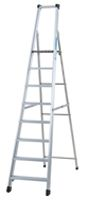 Zarges Aluminium Step Ladder 10 steps