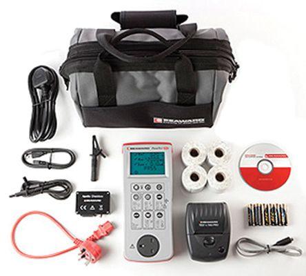 Seaward PrimeTest 250+ Pro Bundle UK PAT Testing Kit, Kit Contents PrimeTest 250+ 4 x Test n Tag Printer Label Rolls