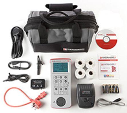 Seaward PrimeTest 250+ Pro Bundle with software UK PAT Testing Kit, Kit Contents PrimeTest 250+ 4 x Test n Tag Printer