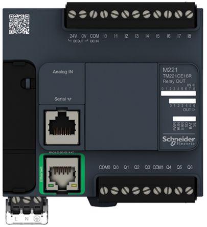 CONTROLLER M221-16IO RELAY ETHERNET