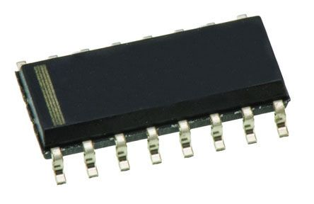 Texas Instruments CD74HC75M Quad Latch, Transparent D Type, LSTTL, 16-Pin SOIC