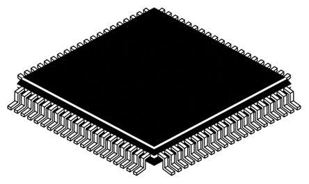 Texas Instruments MSP430F6736IPN, 16bit MSP430 Microcontroller, 25MHz, 128  kB Flash, 80-Pin LQFP