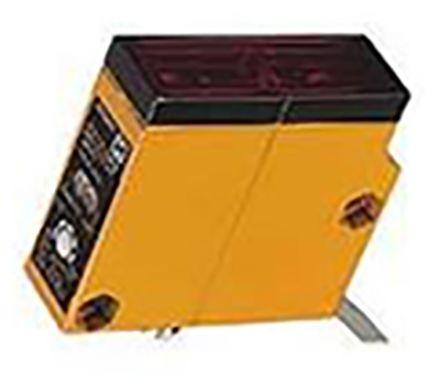 Diffuse Photoelectric Sensor 30 -> 100 mm Detection Range PNP IP67 Block Style E3S-LS10XB4 product photo