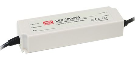 Mean Well Constant Current LED Driver 100.1W 143 → 286V
