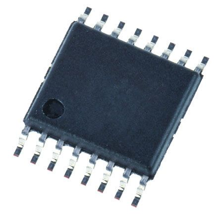 Texas Instruments DRV8833PWP, Stepper Motor Driver IC, 10.8 V 0.7A 16-Pin, HTSSOP