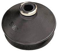 Vacuum Pad, 13mm Dia, Bellows type, NBR