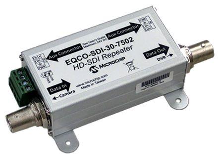 Microchip EQCO-SDI-30-7502, LVDS Repeater 1-Bits CML CML, 3.15 → 3.45 V, 16-Pin, QFN