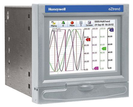 Honeywell 43-TV-03-18, 12 Channel, Graphic Recorder Measures Current, Resistance, Temperature, Voltage