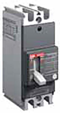 3P 50 A MCCB Molded Case Circuit Breaker, Breaking Capacity 10 kA @ 240 V ac, 5 kA @ 250 V dc Fixed Mount Formula A1A