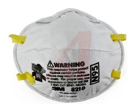3m Disposable Adjustable 8210-respirator Nose Respirator N95 Clips