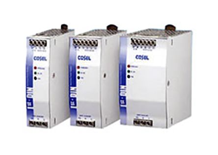 Cosel, KHEA90F DIN Rail Panel Mount Power Supply, 24V dc Output Voltage,  3 8A Output Current