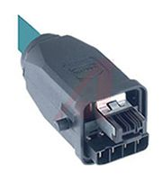 Harting Male Cat5 RJ Connector, Cable Mount, IP65, IP67