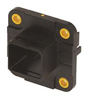 HARTING HARTING Push PullSeries, RJ45/USB Housing for use with HIFF Inserts