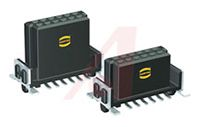 Harting Har-Flex Series 1522 Series Number 1.27mm Pitch 80 Way 2 Row Straight PCB Socket, Surface Mount