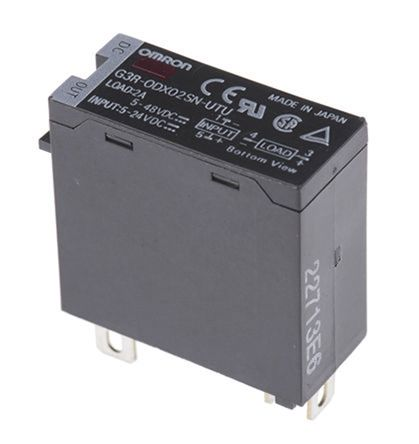 Omron 1 5 A Solid State Relay, Non-Zero Crossing, Plug In, Photocoupler,  200 V dc Maximum Load