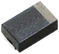 Panasonic 470μF 2.5V dc Aluminium Polymer Capacitor, Surface Mount 7.3 x 4.3 x 1.9mm +105°C 7.3mm