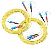 Fluke Networks NFK2-DPLX-SC, Fibre Optic Test Equipment Patch Cord for SC Adapter