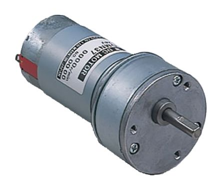 Nidec, 12 V dc, 0 98 Nm, Brushed DC Geared Motor, Output Speed 52 3 rpm