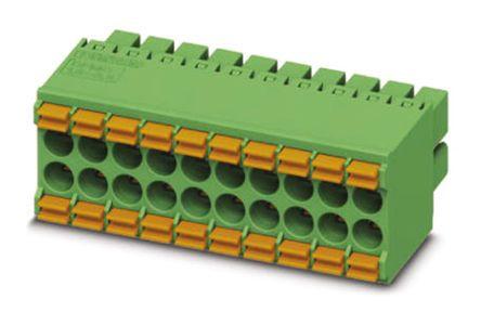 Phoenix Contact DFMC 1.5/ 5-ST-3.5, 10 Way Pluggable Terminal Block