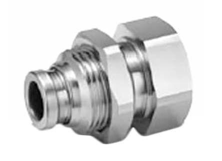 Pneumatic Bulkhead Threaded-to-Tube Adapter product photo