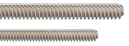 Igus Lead Screw, 10mm Shaft Diam. , 500mm Shaft Length