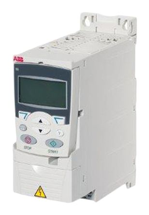ABB ACS355 Inverter Drive 0.37 kW with EMC Filter, 1-Phase In, 200 → 240 V, 2.4 A, 0 → 600Hz Out, IP20