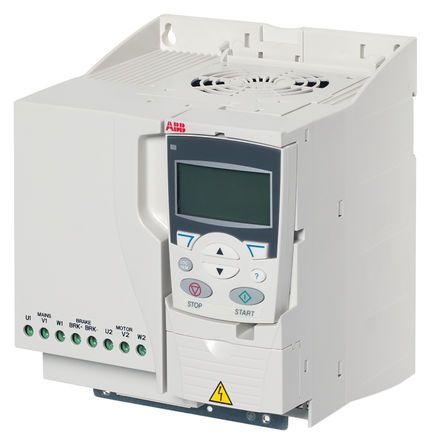 ABB ACS355 Inverter Drive 7.5 kW with EMC Filter, 3-Phase In, 380 → 480 V, 15.6 A, 0 → 600Hz Out, IP20