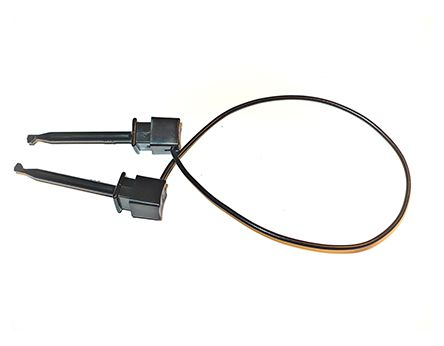 Mueller Electric 4 mm Test lead With Spring Test Probe, 300V, 5A, 0.9m Lead Length
