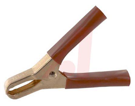 Brand New Copper Lot of 10 20 Amp Mueller Alligator Clips Needle