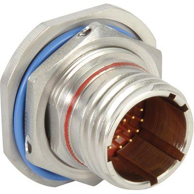 Conector Circular MIL Deutsch Serie DTS Hembra Recta Contratuerca, MIL-DTL-38999, D38999/23NB2XD