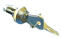 IP66, IP67 Keylock Switch, Double Pole Single Throw (DPST), 1 A @ 115 V ac 2-Way, -20 -> +65°C product photo