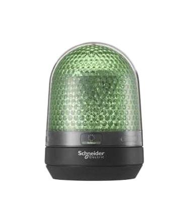 Green LED Beacon w/ Buzzer, 110-230Vac