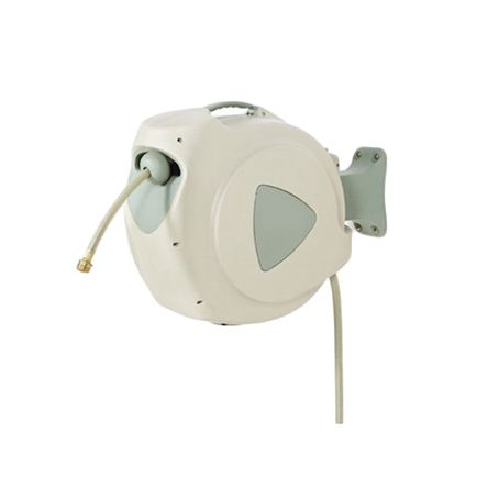 RS PRO 12mm 494mm Hose Reel 10 20m Length, Wall Mounting
