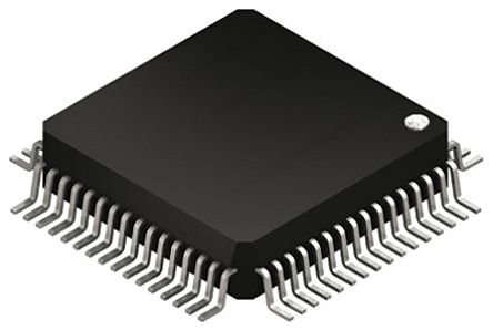 Texas Instruments MSP430FR4133IPM, 16bit MSP430 Microcontroller, 16MHz, 512 B Flash, 64-Pin LQFP