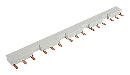 Busbar for Line+ and 0V, length 500mm