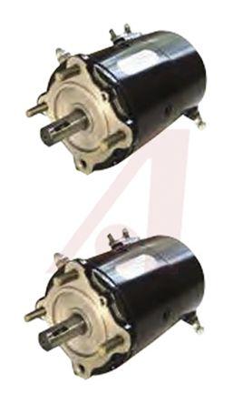 AMETEK LAMB Brushed DC Motor, 3.36 kW, 12 V dc, 16.3 Nm, 4100 rpm, 19.02mm Shaft Diameter