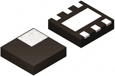 Texas Instruments TPD4S012DRYR, Triple-Element Uni-Directional TVS Diode Array, 60W, 6-Pin SON
