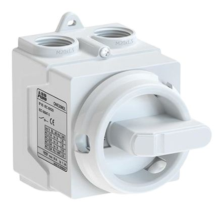 4P Pole Panel Mount Switch Disconnector, 20 A