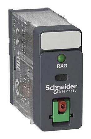 Schneider Electric Relé Sin Enclavamiento , DPST-C/O, Bobina 48V Dc, Enchufable, RXG22ED