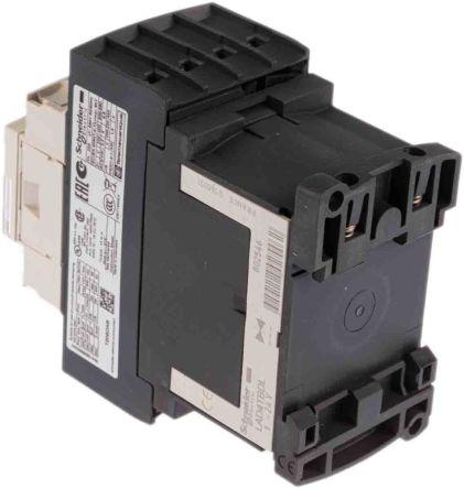 20A 4Pole 24V Dc Schneider Electric LC1DT20BD Contactor 20A 24V DC Cont