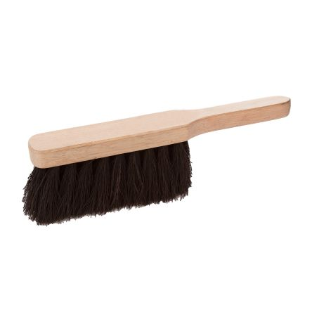 RS PRO Black Natural Coco Soft Hand Brush for Industrial