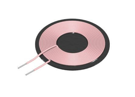 WT505090-10K2-A11-G | TDK WT Wireless Charging Coil Transmitter, 6.3 μH,  50mm dia. | RS Components