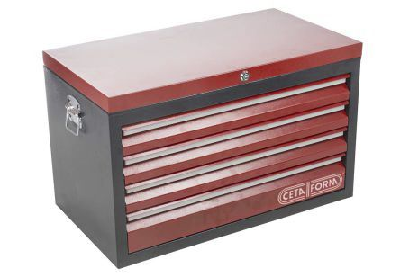4 drawer Steel Tool Chest, 476mm x 442mm x 798mm product photo