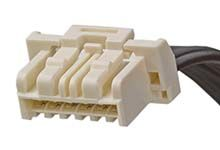 CLIK-Mate OTS 15135 Series Number Wire to Board Cable Assembly 1 Row, 6 Way 1 Row 6 Way, 600mm product photo