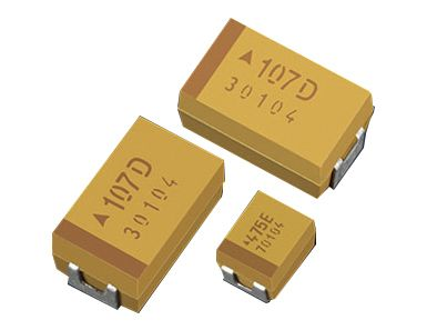 EPCOS Tantalum Capacitor 10μF 16V dc Electrolytic Solid TAJ Series