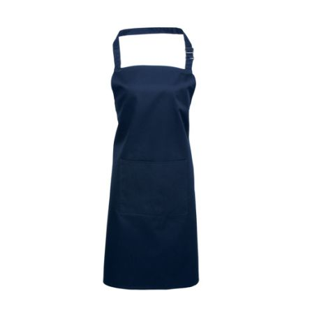 RS PRO Navy Cotton, Polyester Reusable Apron 860mm