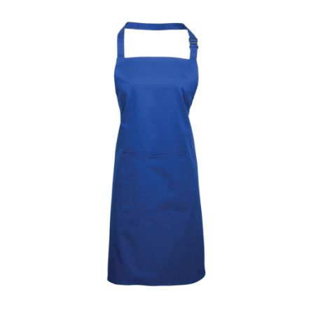 Royal Blue Cotton, Polyester Reusable 860mm Apron product photo