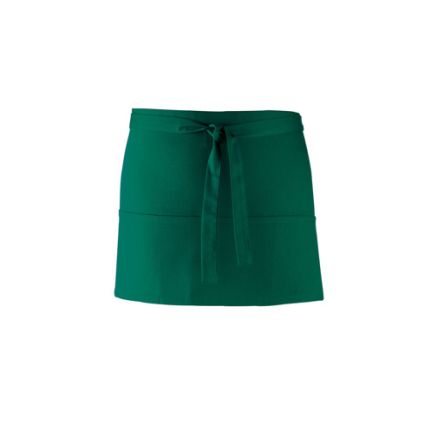 Green Cotton, Polyester Reusable 330mm Apron product photo