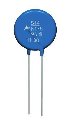 EPCOS, Standard Disc Varistor 670pF 50A, Clamping 455V, Varistor 270V