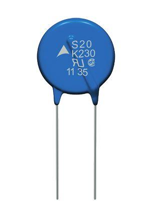 EPCOS, Standard Disc Varistor 340pF 100A, Clamping 1815V, Varistor 1100V